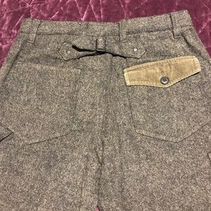 Armani Exchange wool blend pants